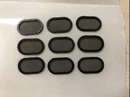 手机防尘网 材质 : PE泡棉+网+3M300LSE