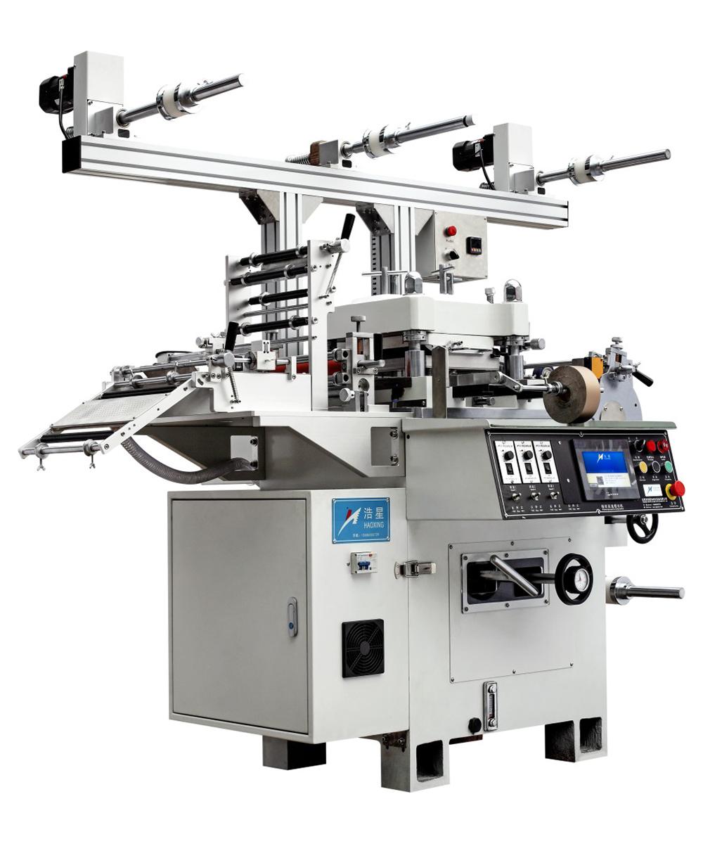 HX-270/350高速标签烫金模切机