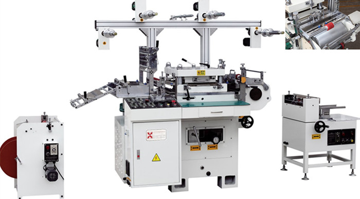 HD-450 数控多功能套孔单座模切机